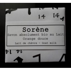 Le Savon absolument bio au Lait / Orange douce